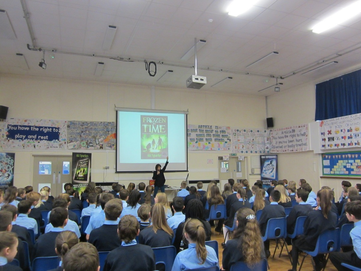 Award Winning Author Inspires FMS to Write