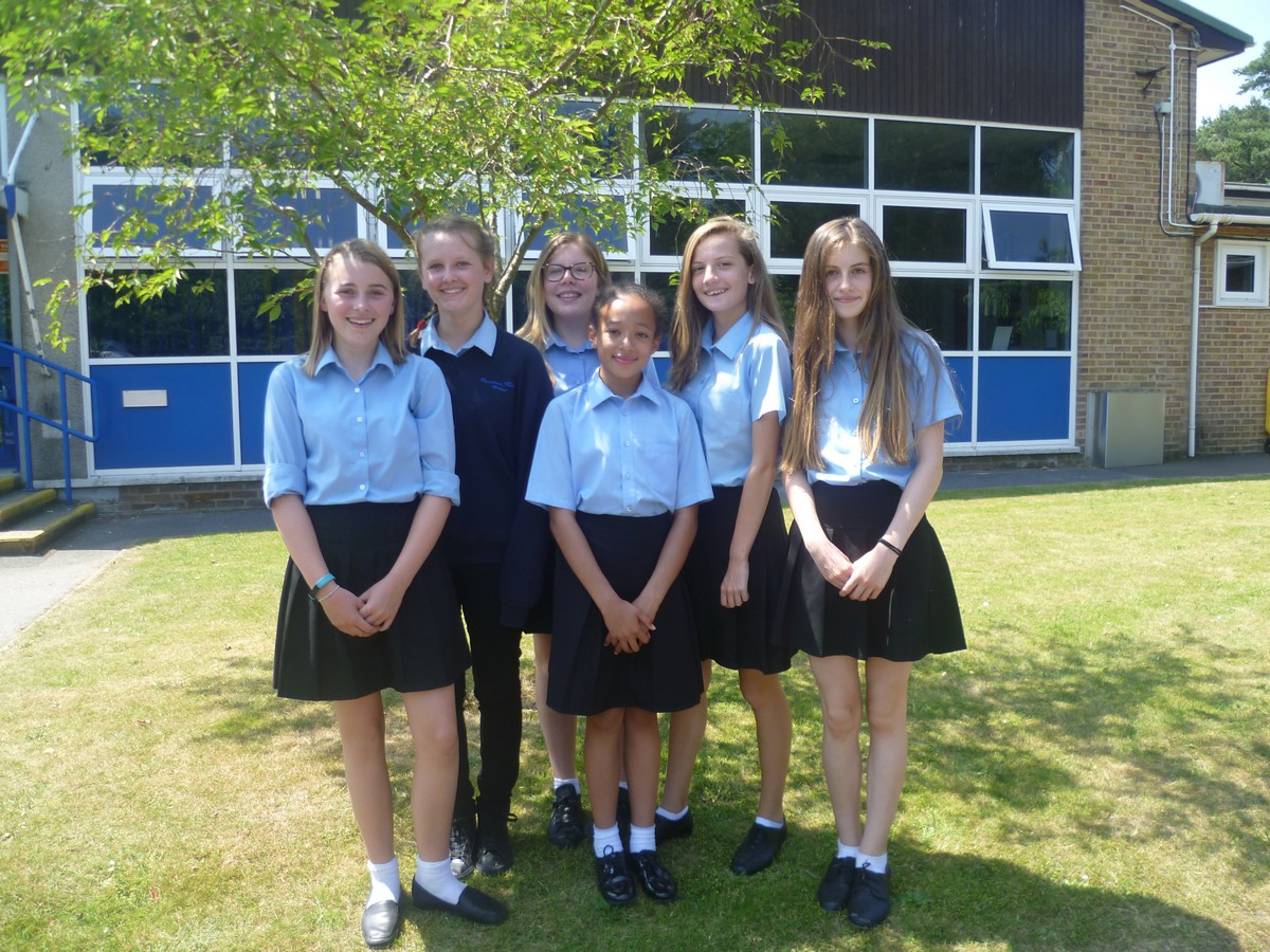 Year 8 Girls Fundraise for Cancer Care