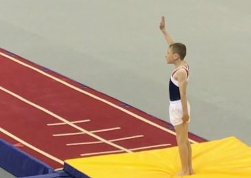 Charlie Attends National Tumbling Semi-Finals