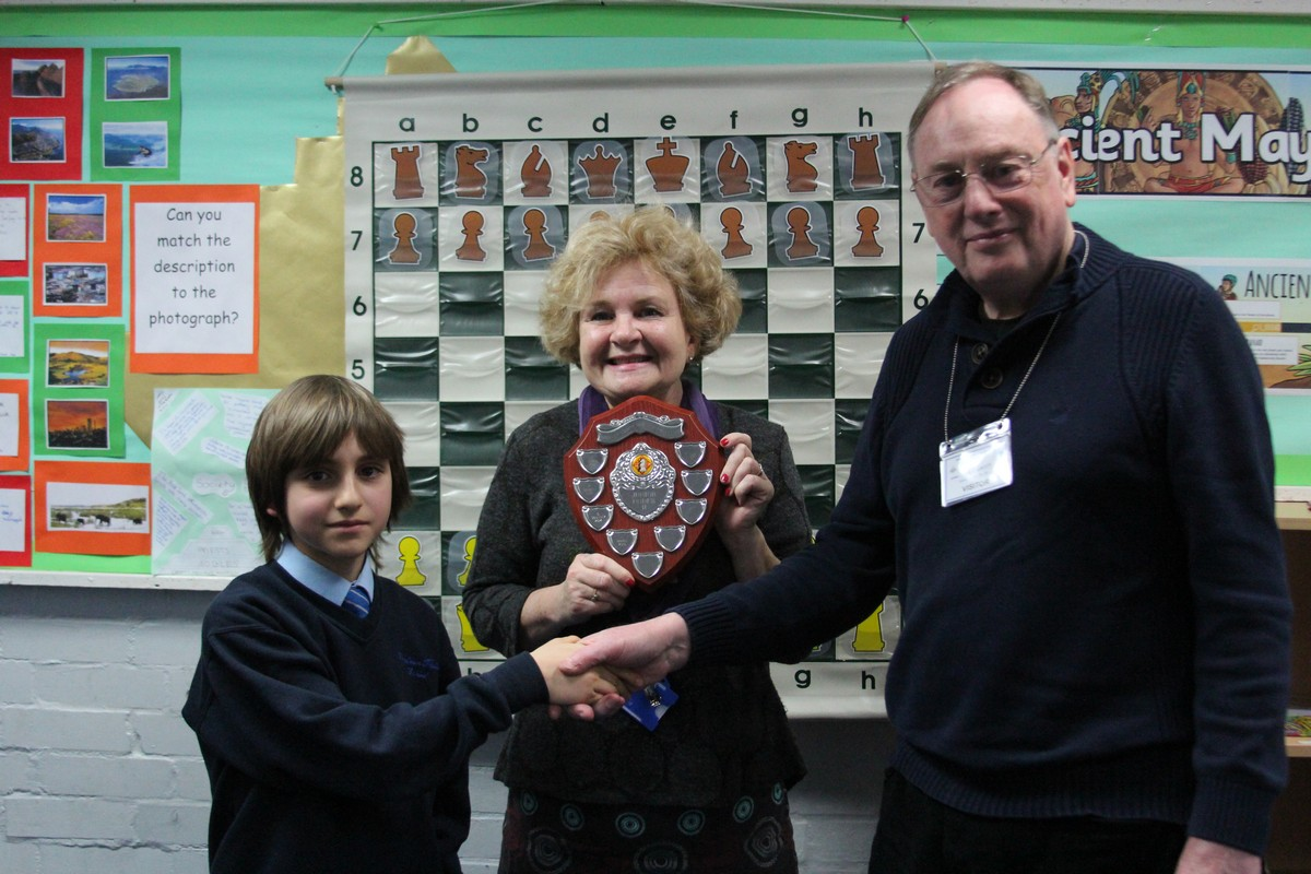 Teo Crowned County Chess Champion