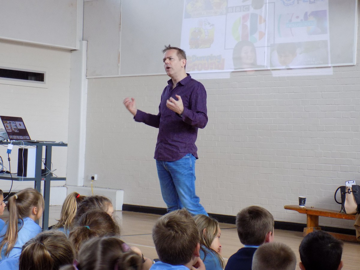 CBBC Presenter Talks Storytelling with KS2