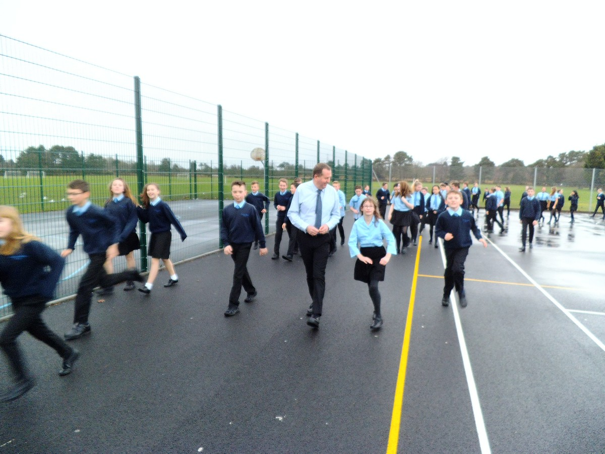 FMS Launch Daily Mile Challenge