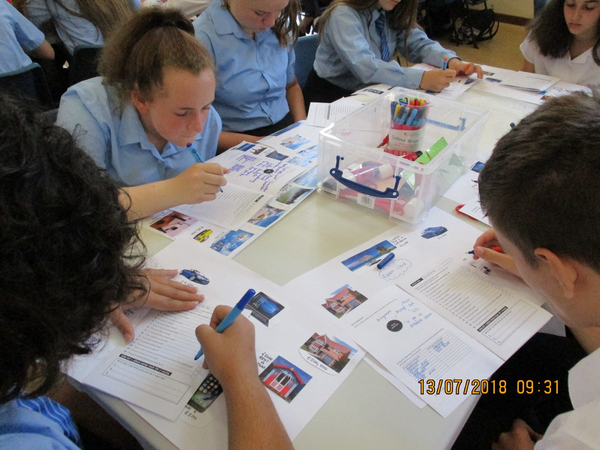 Year 8 Think About Careers at FUS
