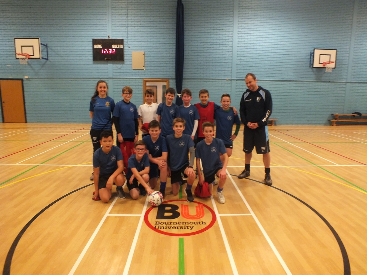 Year 7 Play 'Futsal' at Bournemouth University