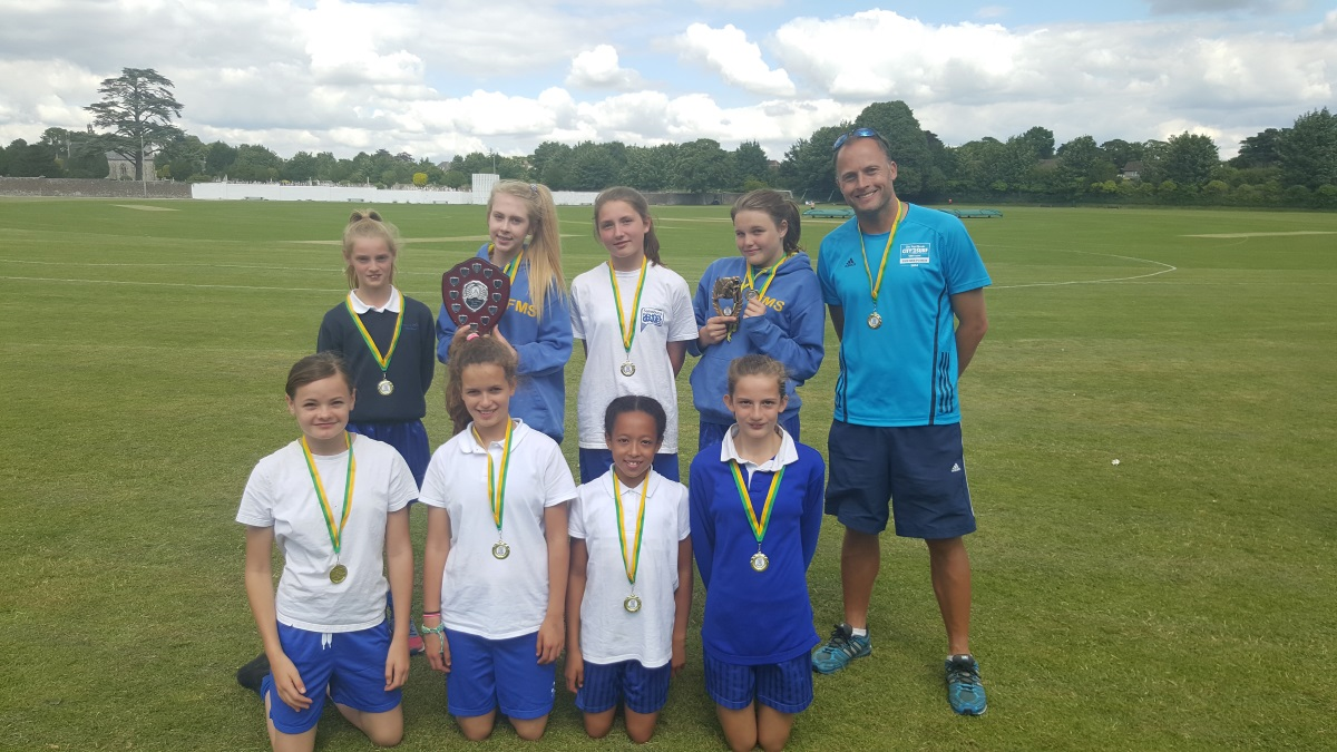 FMS Girls Crowned County Champions