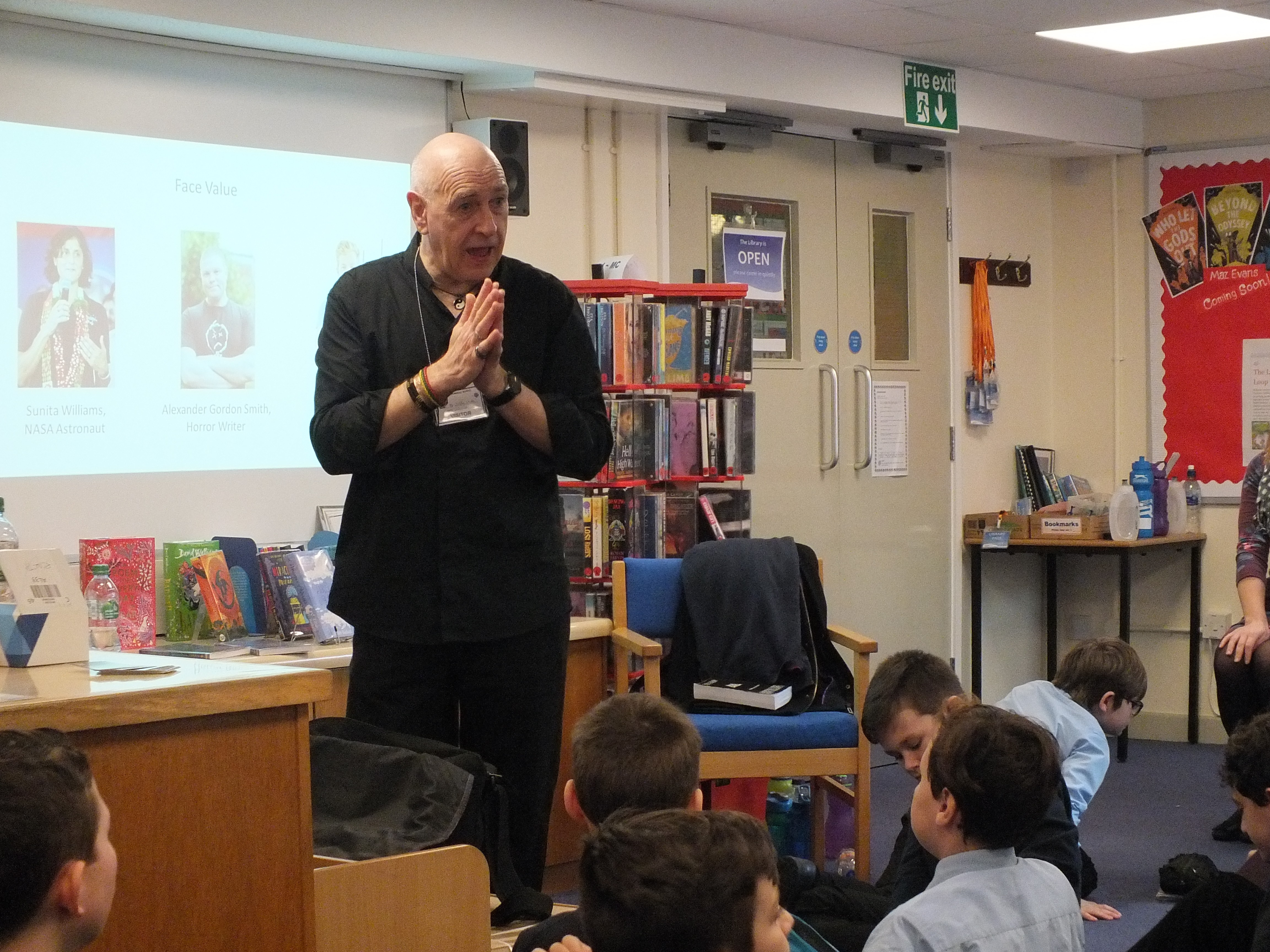 Author Joffre White Inspires Key Stage 3
