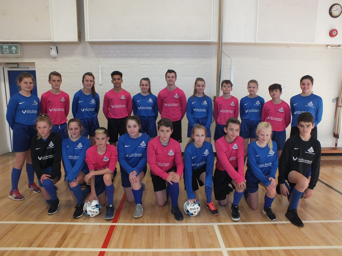 John Thornton Young Achievers Foundation Sponsor FMS Football Shirts