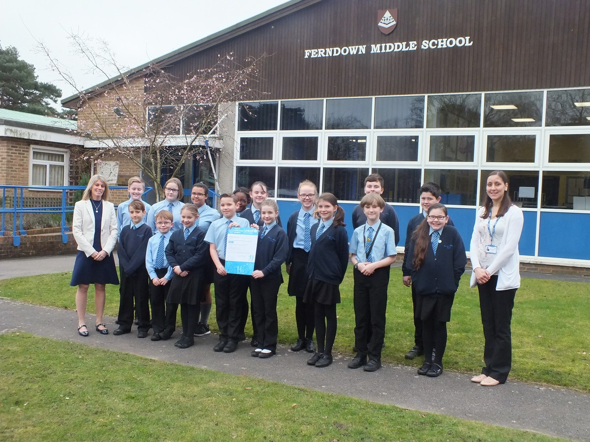 FMS Award Rights Respecting School Level 2