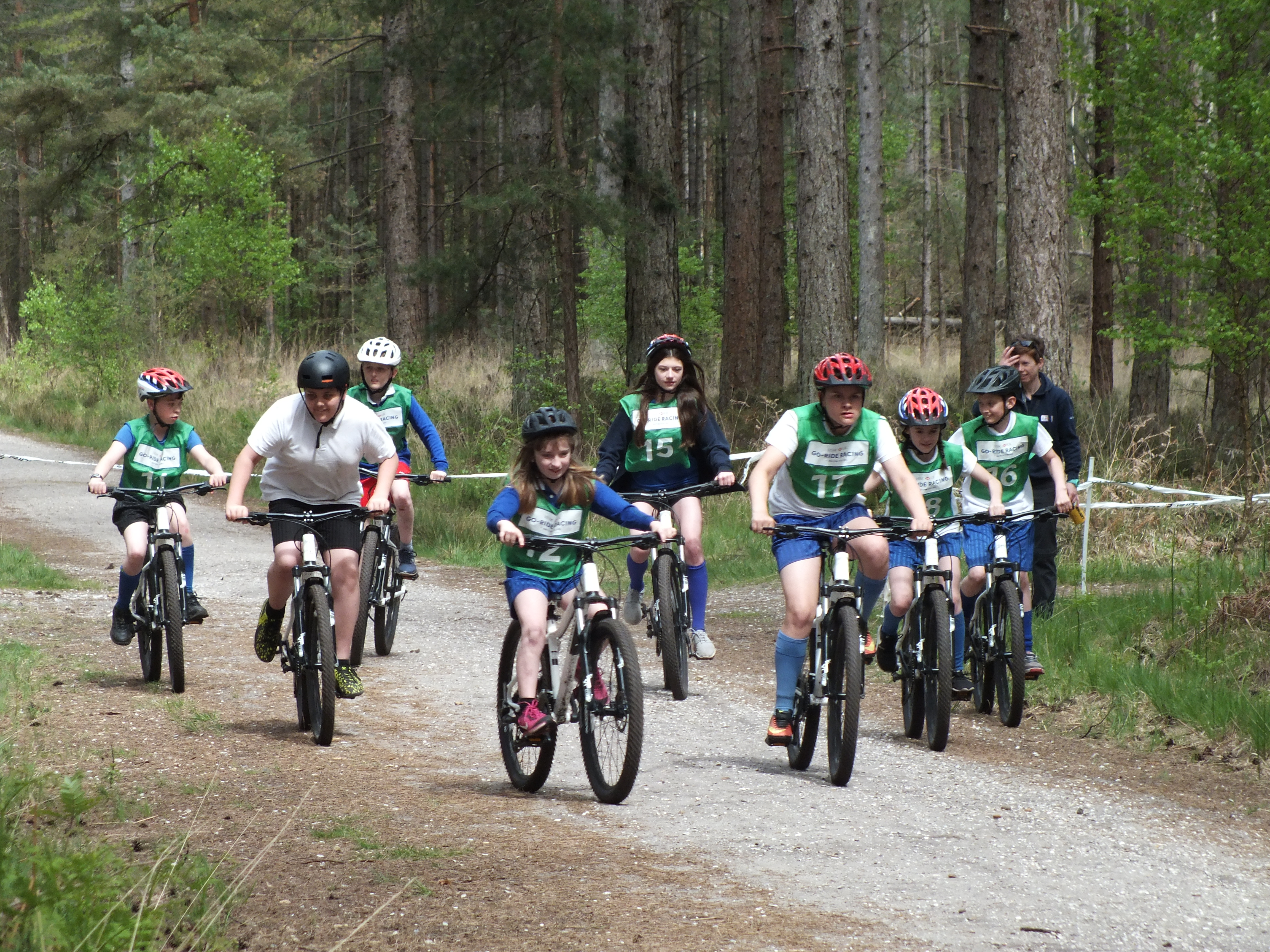 School Games Cycling Event