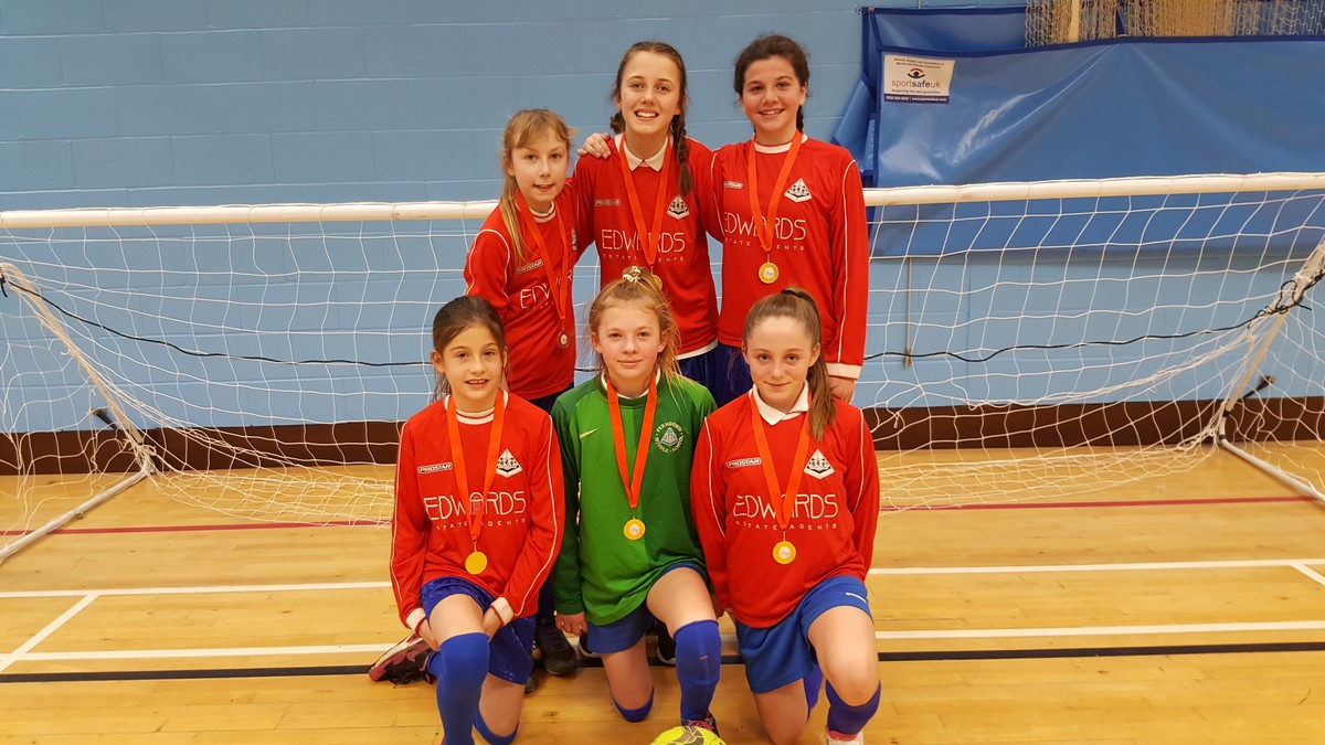 Year 7 Girls 3rd in South West