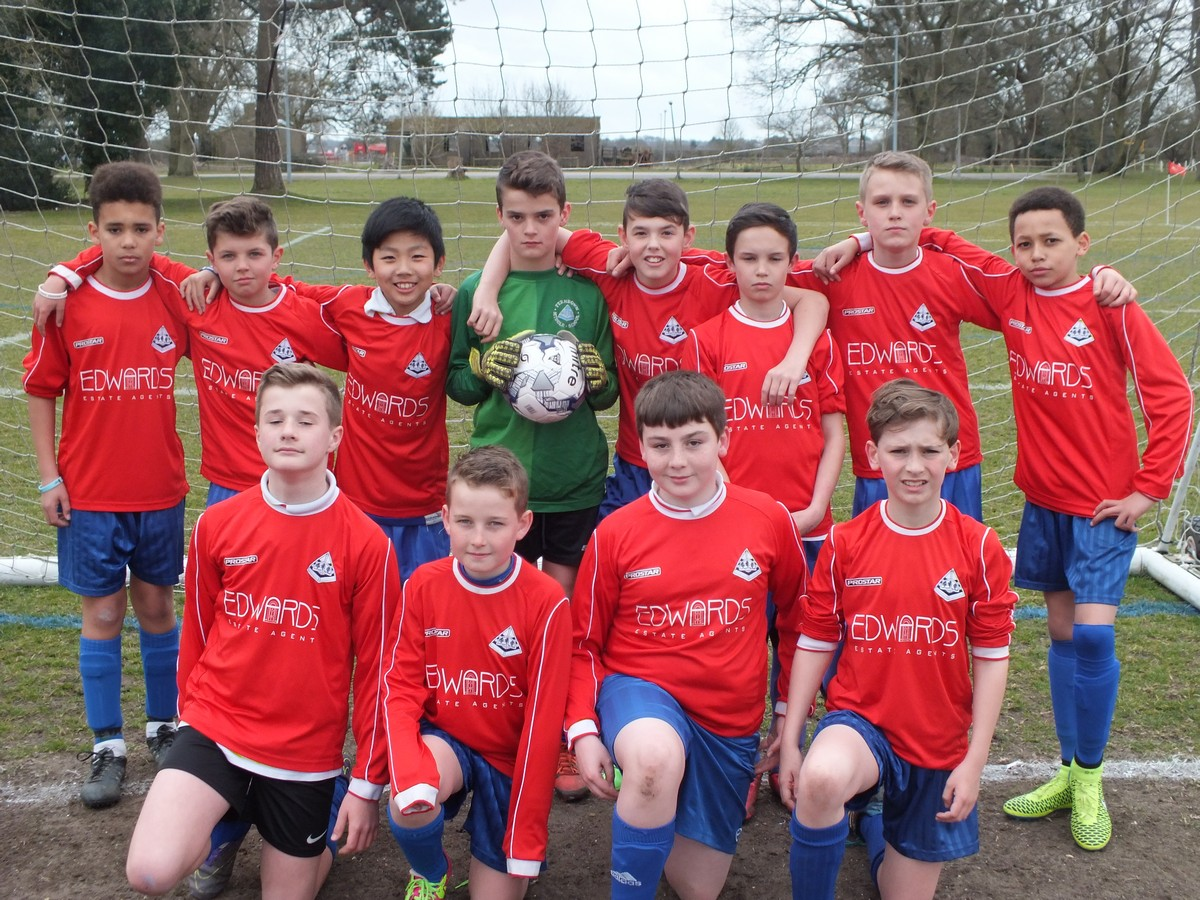 Year 6 Boys Narrowly Lost out in County Final