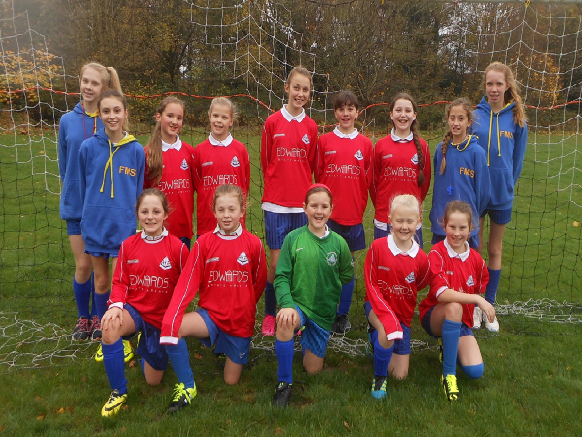 Year 5 and 6 Girls Football - 10.11.2015