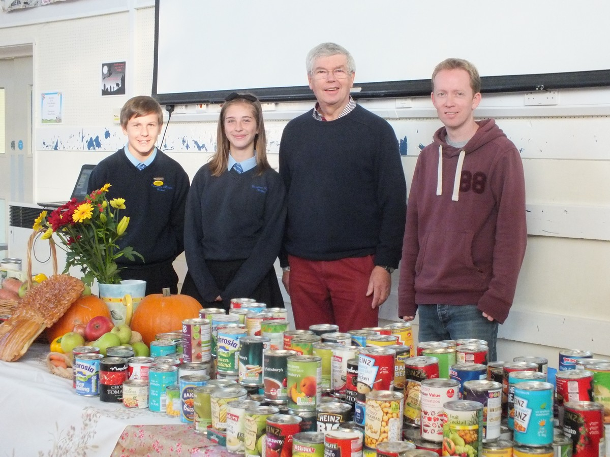 Ferndown Give Generously to Local Food Bank