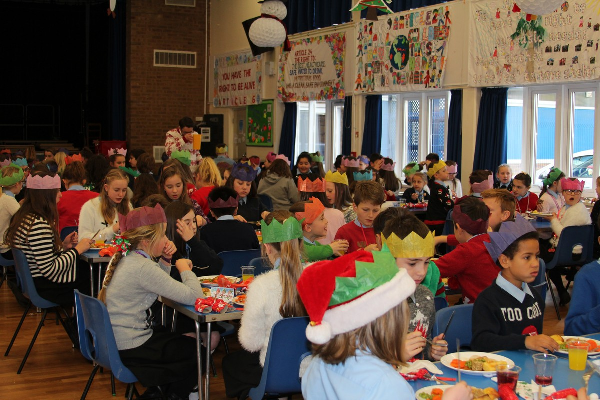 Christmas Jumpers and Lunch Bring Term to an End