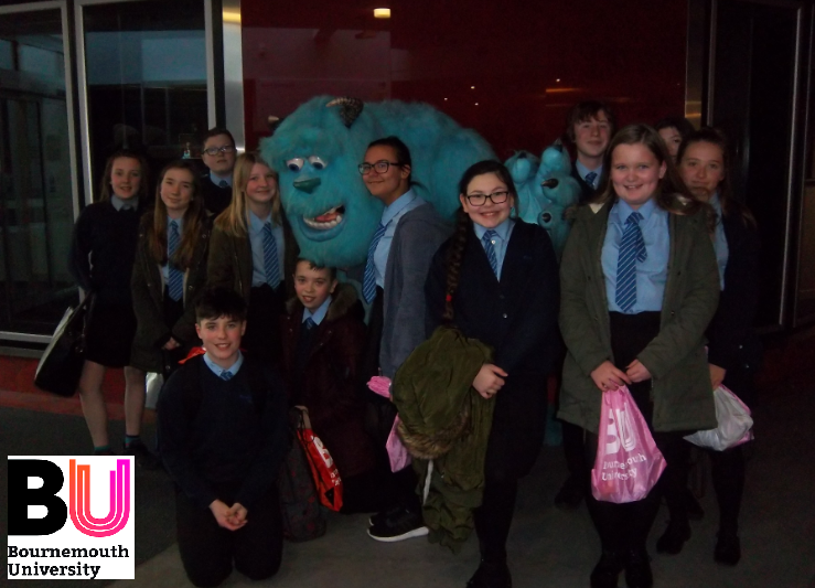FMS Students Visit Bournemouth University