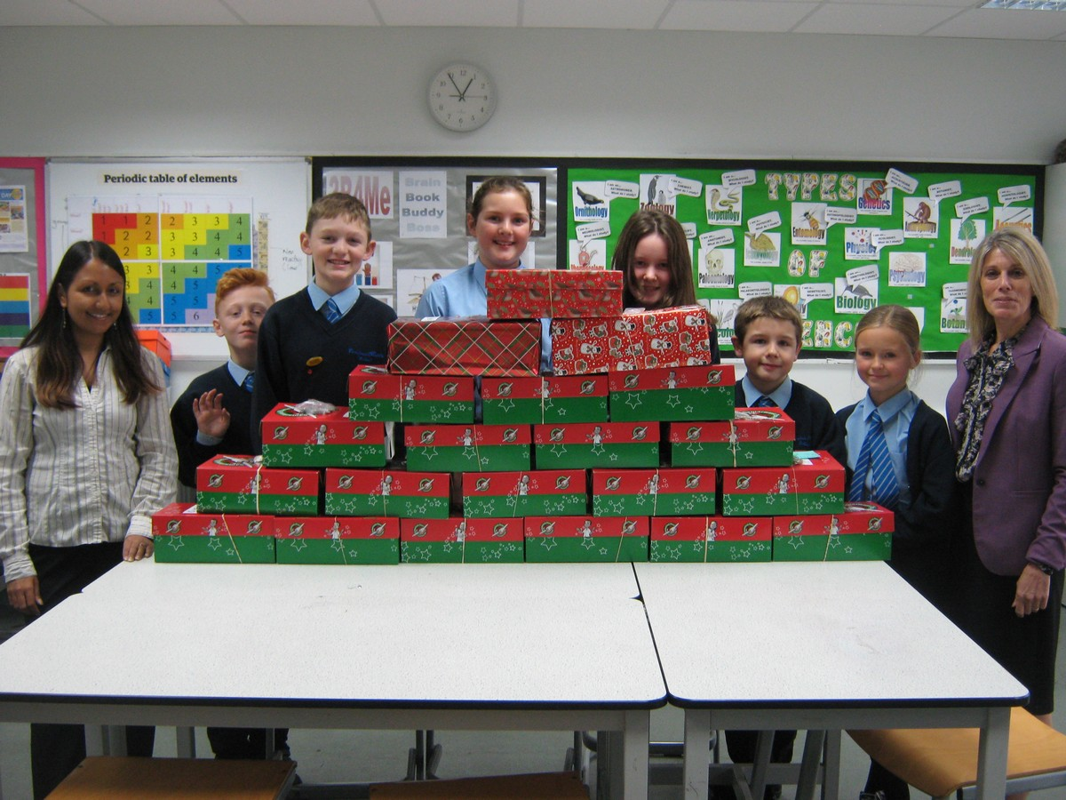 Ferndown Support Operation Christmas Child