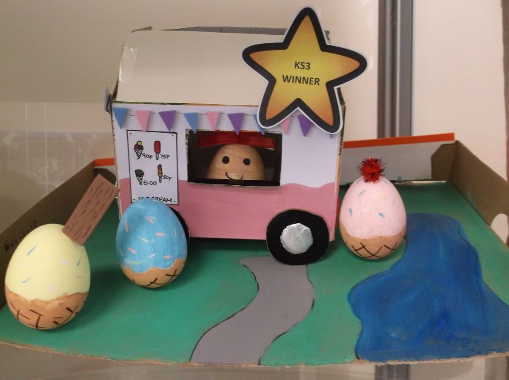 FMS Take Part in Easter Art Competition
